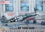 AZM7642 1/72 Messerschmitt Bf-109G-14AS 'Reich Defence'